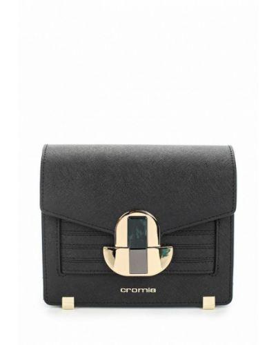 Кожаный сумка черный Cromia