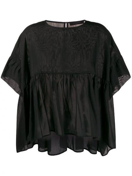 Блузка черная Allsaints
