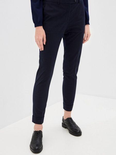 Синие классические брюки с карманами Mezzatorre