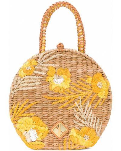 Сумка-тоут плетеная Aranaz