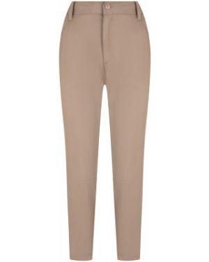 Спортивные коричневые зауженные брюки из вискозы Merrell
