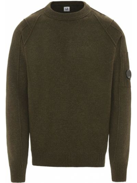 Зеленый свитер C.p. Company