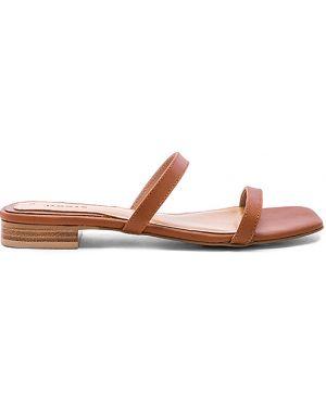 Brązowe sandały skorzane Jaggar