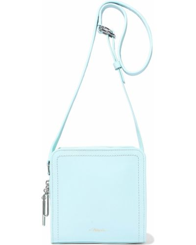 Niebieska torba na ramię skórzana 3.1 Phillip Lim