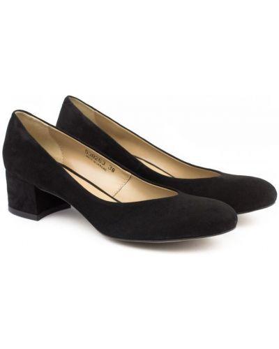 Туфли на каблуке замшевые Braska