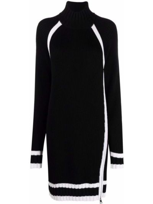Черное платье длинное Karl Lagerfeld
