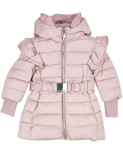 Różowy płaszcz Monnalisa