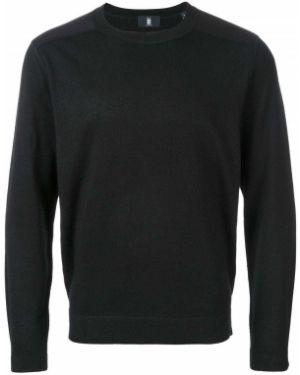 Черный свитер Kent & Curwen