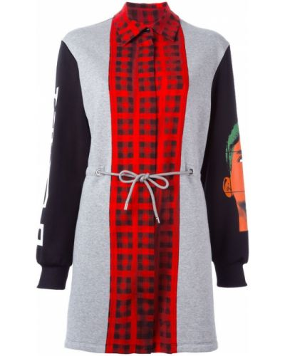 Платье длинное в рубчик Moschino