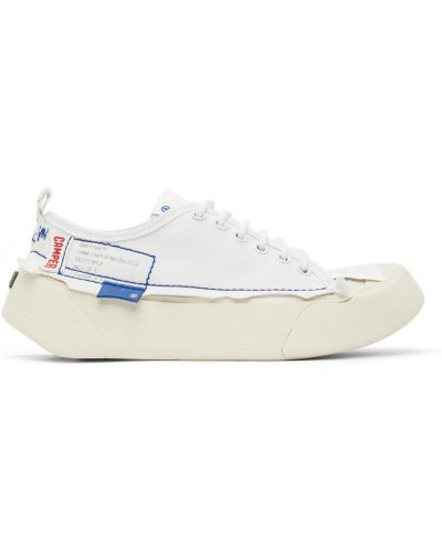 Białe sneakersy na platformie Ader Error