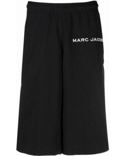 Черные шорты с карманами Marc Jacobs