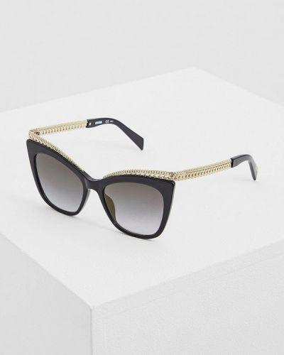 Солнцезащитные очки кошачий глаз Moschino