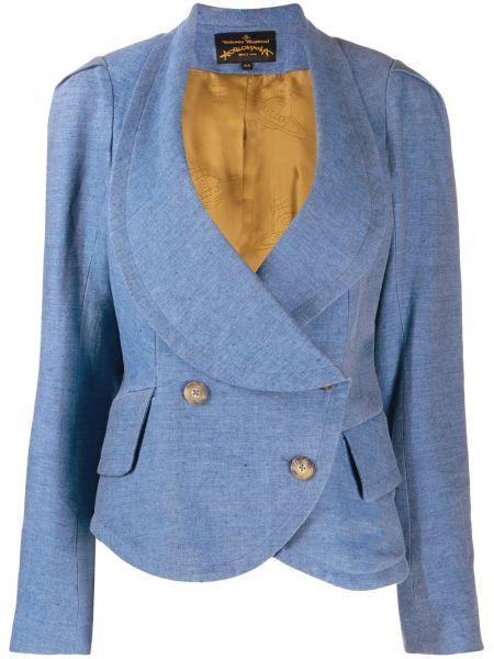 Удлиненный пиджак с баской винтажный Vivienne Westwood Pre-owned