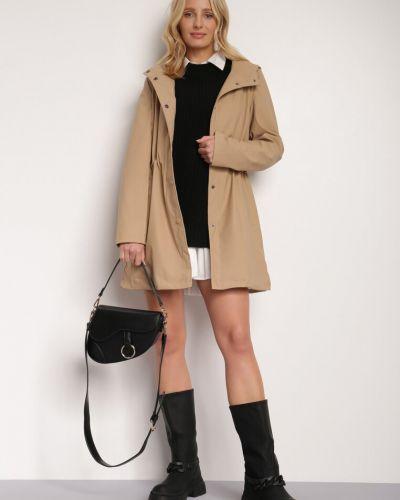 Beżowa kurtka jesienna Renee