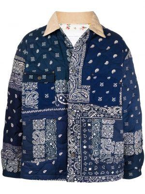Klasyczna niebieska kurtka bawełniana Readymade