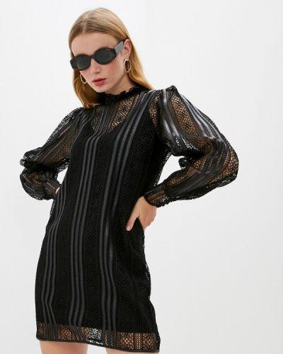 Вечернее черное вечернее платье The Kooples