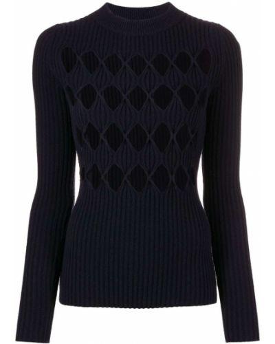 Кашемировый свитер - синий Victoria Beckham