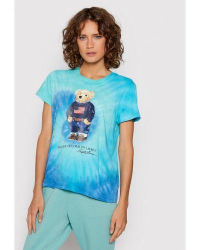 Zielona t-shirt Polo Ralph Lauren