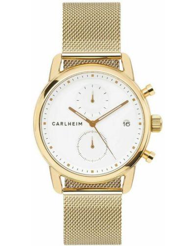 Zegarek - żółty Carlheim