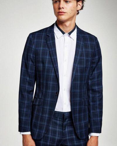 Синий пиджак Topman