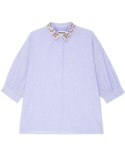 Блузка с пайетками оверсайз Essentiel Antwerp