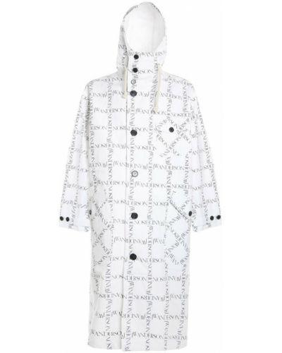 Biały płaszcz Jw Anderson