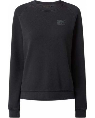 Bluza bawełniana - czarna Marc O'polo Denim