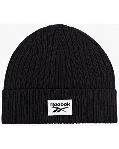 Черная шапка Reebok