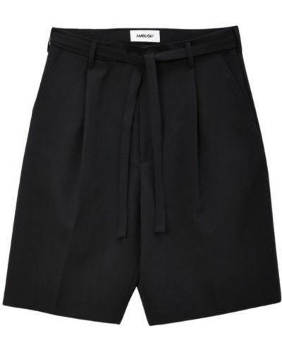 Czarne spodnie Ambush