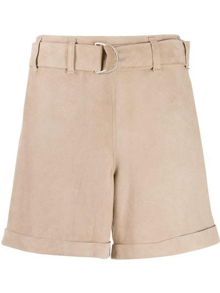 Однобортные кашемировые шорты с карманами Incentive! Cashmere