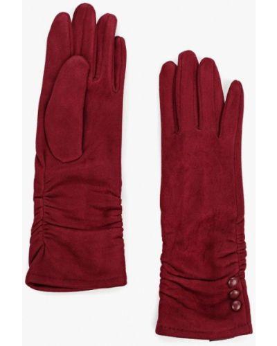 Перчатки бордовый красный Fabretti