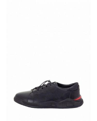 Кожаные кроссовки - черные Philip Smit