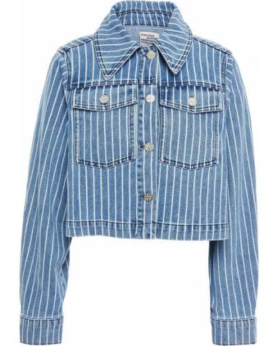 Хлопковая ватная синяя джинсовая куртка Baum Und Pferdgarten
