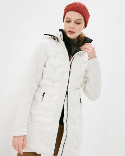 Утепленная белая куртка Torstai