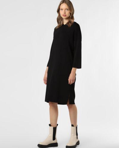 Czarna sukienka z kapturem Someday