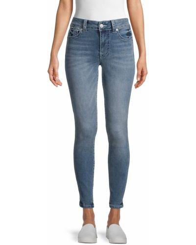 Джинсовые зауженные джинсы - синие True Religion