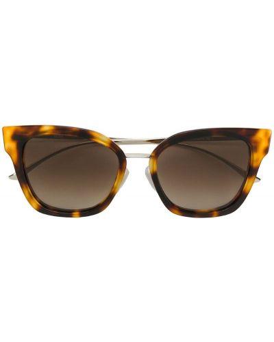 Коричневые солнцезащитные очки Boss Hugo Boss