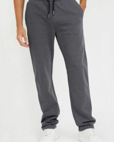Свободные расклешенные серые спортивные брюки Finn Flare