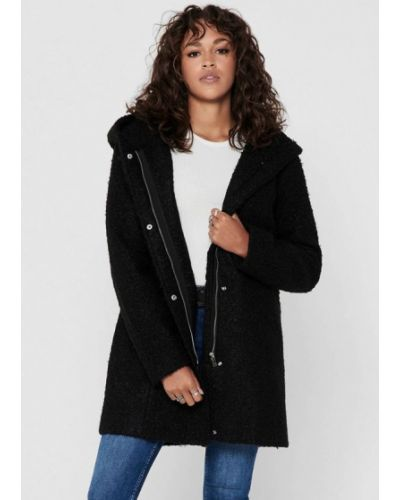 Пальто - черное Jacqueline De Yong