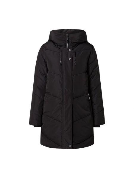 Czarna kurtka pikowana rozkloszowana Khujo