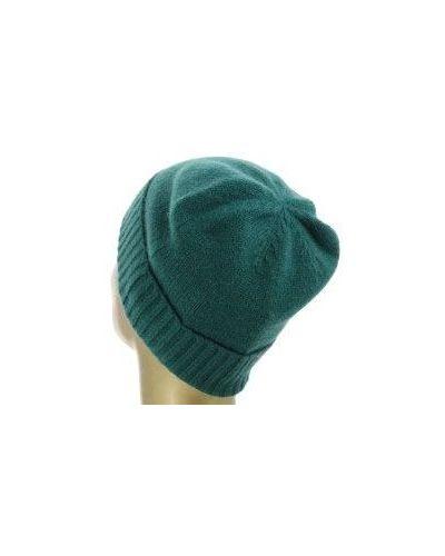 Зеленая кашемировая шапка Allude