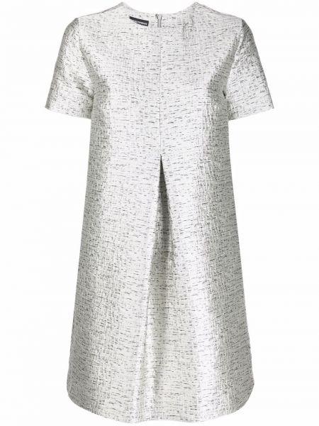 Белое платье короткое Emporio Armani