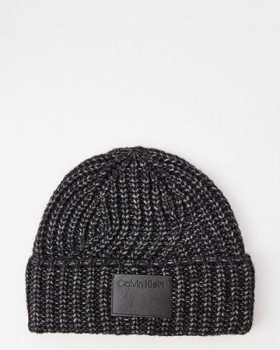 Шапка - серая Calvin Klein