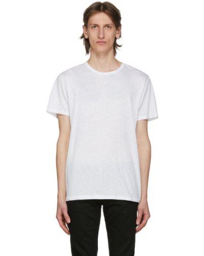 Koszula krótkie z krótkim rękawem klasyczna z wiskozy Rag & Bone