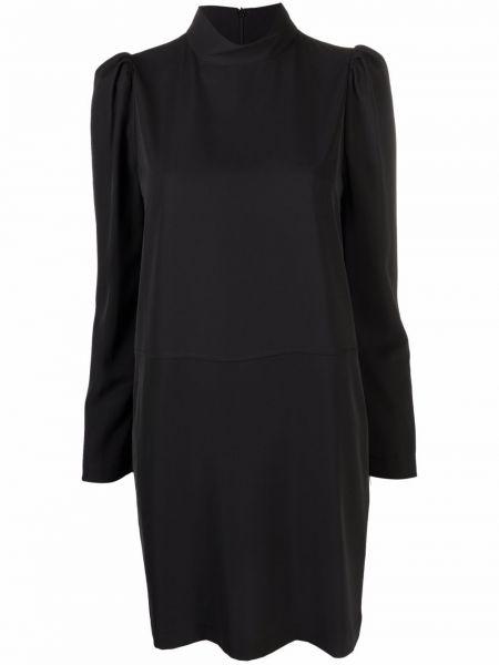 Черное платье из полиэстера 8pm