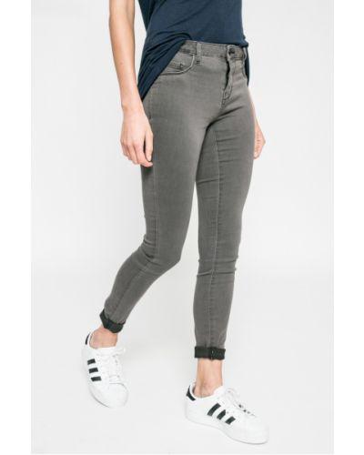 Серые джинсы-скинни Jacqueline De Yong
