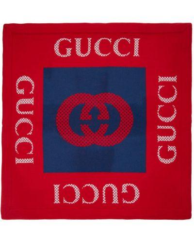 Wełniany szalik Gucci