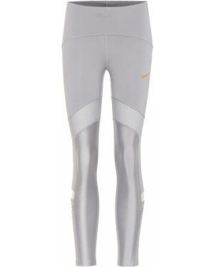 Леггинсы серебряный Nike