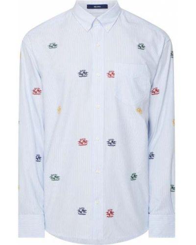 Koszula oxford bawełniana w paski sportowa Gant