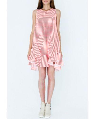 Коралловое платье Mascot